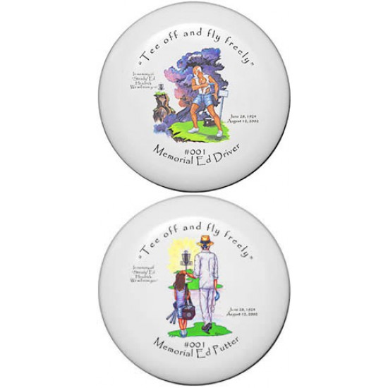 DGA Steady Ed Commemorative Golf Discs - Set (APX/XL)