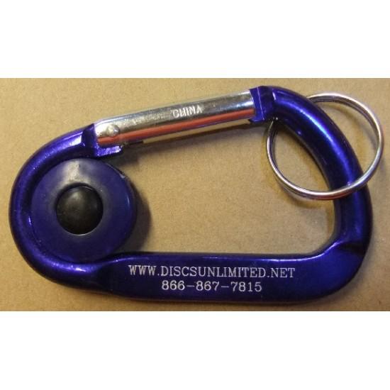 Discs Unlimited Carabiner