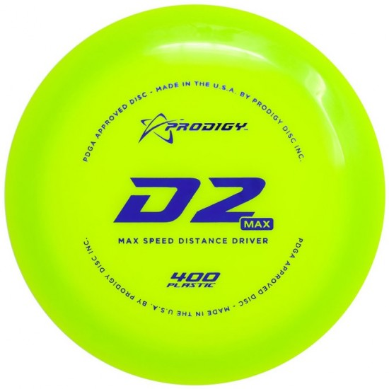 Prodigy D2 Max - 400 Series