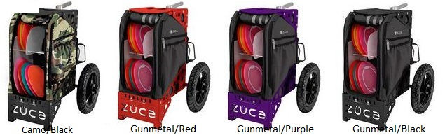 zuca disc golf cart colors - b