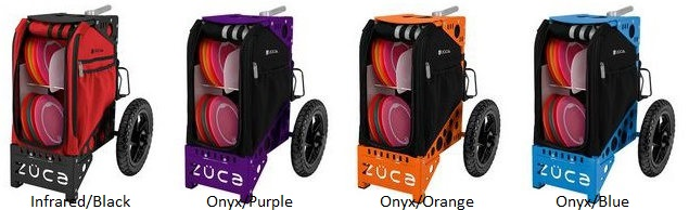 zuca disc golf cart colors - c